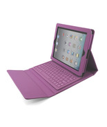 iPad 2 3 4 Stand Leather Case Cover with Bluetooth Keyboard  stylus  pen - $24.99