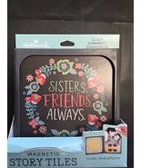 """HALLMARK Magnetic Story Tile """"Sisters, Friends, Always"""" Picture Frame - $24.70"""