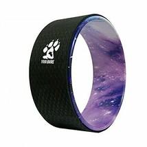 "Yogi Bare Yoga Stretching Wheel 13"" Non Slip - Improve Mobility, (Cosmic) - £58.21 GBP"