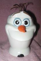 Disney Parks Collectible Fozen Olaf Plastic Drink Cup With Lid - $14.99