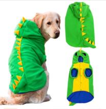 NEW-Dinosaur Dog Costume Large Pet Animal Planet Halloween Jumpsuit Wint... - $20.10+