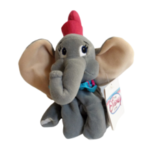 "Disney Store Dumbo Plush Mini 8"" Beanbag Elephant Stuffed Toy Vintage Pi... - $19.80"