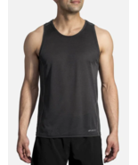 Brooks Ghost Tank Top Size S Small Men's Athletic Running Shirt Black 21... - $22.53