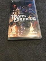 Transformers Revenge Of The Fallen Psp - $8.29