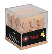 Fridolin - 17313 - Puzzle en bois - Boîte QI Baguettes rondes  - $32.78