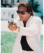 Don Johnson Miami Vice 16x20 Canvas Giclee Sunglasses & Gun - $69.99