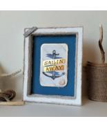 Nautical Coastal Wall Decoration for Beach House Living Room, Sailing Aw... - $35.00