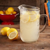 The Pioneer Woman Adeline 1.59-Liter Glass Pitcher Clear - - $26.49