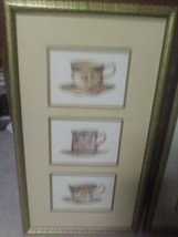 Home interior pictures Victorian teacups Set (2) - $37.57