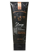 Bath & Body Works Aromatherapy Sleep - Black Chamomile 8.0 Ounces Body Cream - $17.59