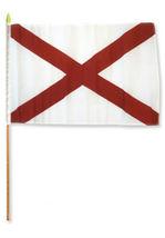 """12x18 12""""x18"""" St. Patrick's Cross Stick Flag wood Staff - $18.00"""