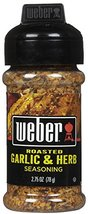 Weber Grill Seasoning, Roasted Garlic Herb, 2.75 oz - $9.85