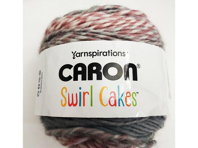 Caron Swirl Cakes Yarn in Plum Crumble #296622