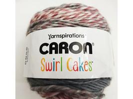 Caron Swirl Cakes Yarn in Plum Crumble #296622 image 1