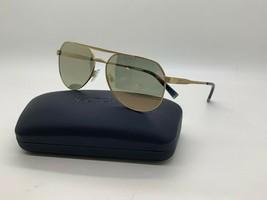 New Nautica N5125S 722  POLARIZED GOLD  Sunglasses 57mm w/Case - $44.59