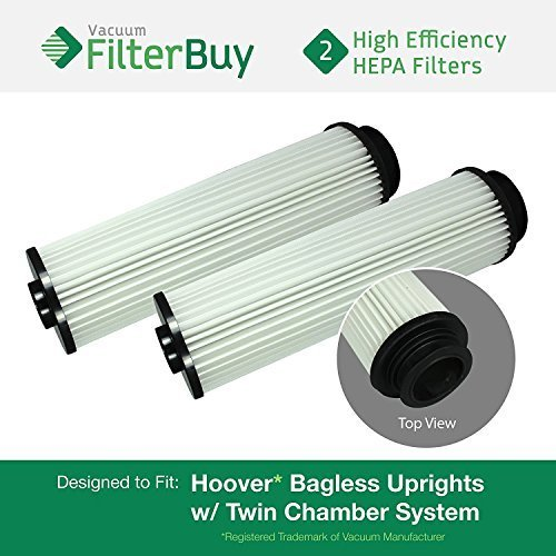 2 - Hoover WindTunnel, EmPower, Savvy Washable Long-Life HEPA Filters, Part #'s