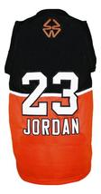 Michael Jordan #23 Custom Stefanel Basketball Jersey New Sewn Any Size image 5