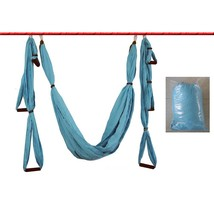 Anti-gravity Aerial Yoga Hammock  Indoor Fly(SKY BLUE) - $39.95