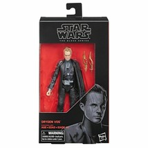 Star Wars the Black Series Dryden Vos 6 Inch Action Figure #79 MIB - $19.78