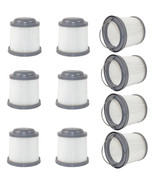 10-Pack HQRP Washable Filter for Black & Decker Pivot Hand Vac Vacuums, ... - $57.95
