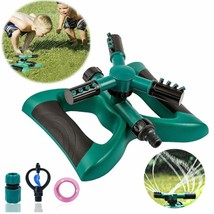 Lawn Sprinkler Automatic Sprinklers For Garden Water Sprinklers For Lawns 360 Ro - $21.29