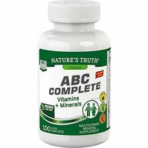 Nature's Truth Adult Multivitamin 100 Tablets - $11.47
