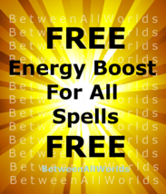 Free Freebie Sat-Sun 10,000x Boost Power Of Spells BetweenAllWorlds Ritual  - $0.00