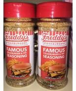2 Bottles New Freddy's Frozen Custard Steakburgers Famous Fry Seasoning ... - $19.79