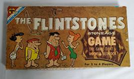 ORIGINAL Vintage 1961 Flintstones Transogram Board Game Fred Wilma Barne... - $46.39