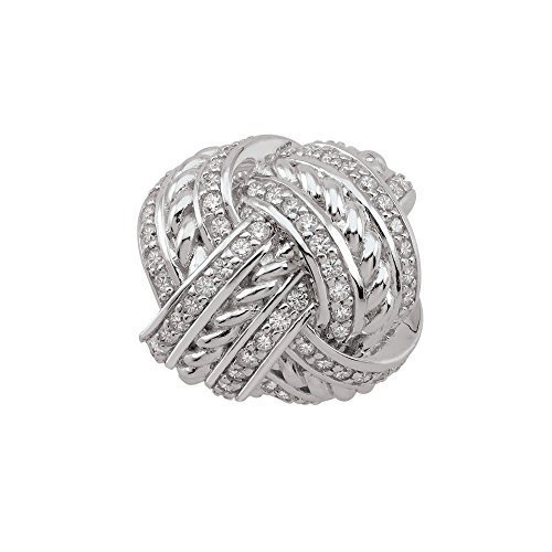 Persona Sterling Silver True Lovers Knot Charm Bead H15127PZ
