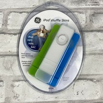 GE iPod Shuffle Skins MP3 MP4 AAC Green White Blue 3 pk New In Package 9... - $2.00