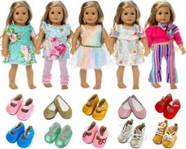 Two Pair Set Fits 18 Inch American Girl Dolls Sophia/&39s Doll Ankle Sock Set