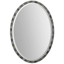 Uttermost 12859 Paredes Oval Mosaic Mirror, Brown - $237.60
