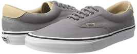 New Vans Unisex Era 59 Veggie Tan Frost Grey Shoes Mens 11 12 13 SK8 Skate - $54.99