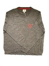 Sundry Womens Heart 369A43 Long Sleeve Top Grey US 3 - $49.52