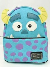 Disney Parks Loungefly Sulley Mini Backpack Pixar Monsters Inc Exclusive... - $58.70
