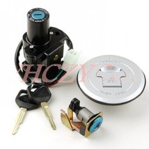 Ignition Switch Fuel Gas Cap Cover Seat Lock Key Set for Honda CB500 2013-2014 - $52.64