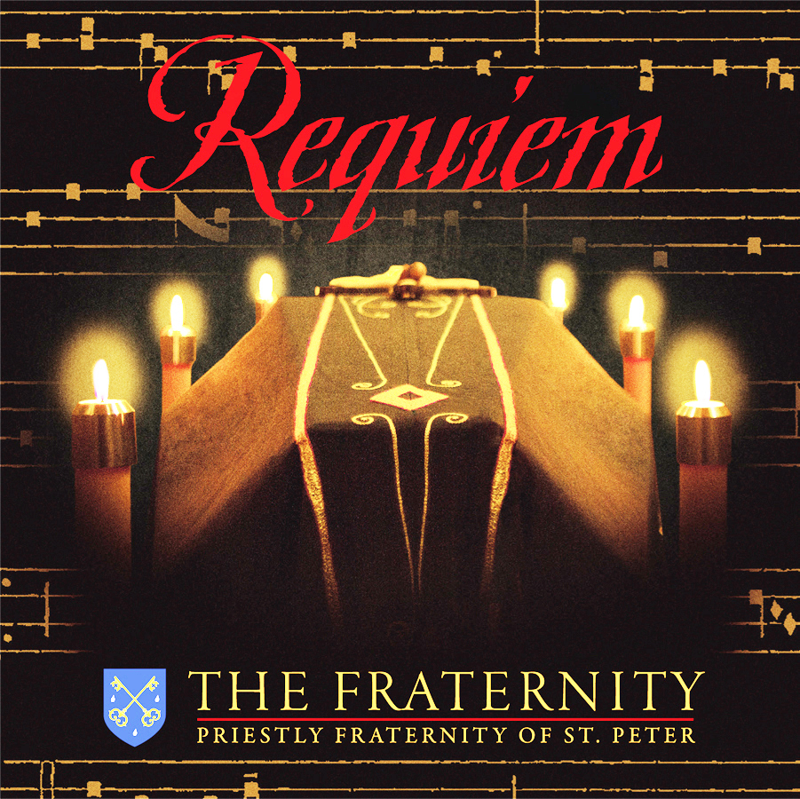 Requiem by the priestly fraternity of st. peter   cd