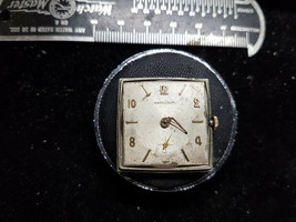 VINTAGE HAMILTON 673 17 JEWEL WATCH MOVEMENT AND DIAL RUNS AND STOPS FOR... - $120.94