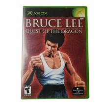 Microsoft Xbox Bruce Lee: Quest of the Dragon Video Game (Complete, 2002) - $12.59