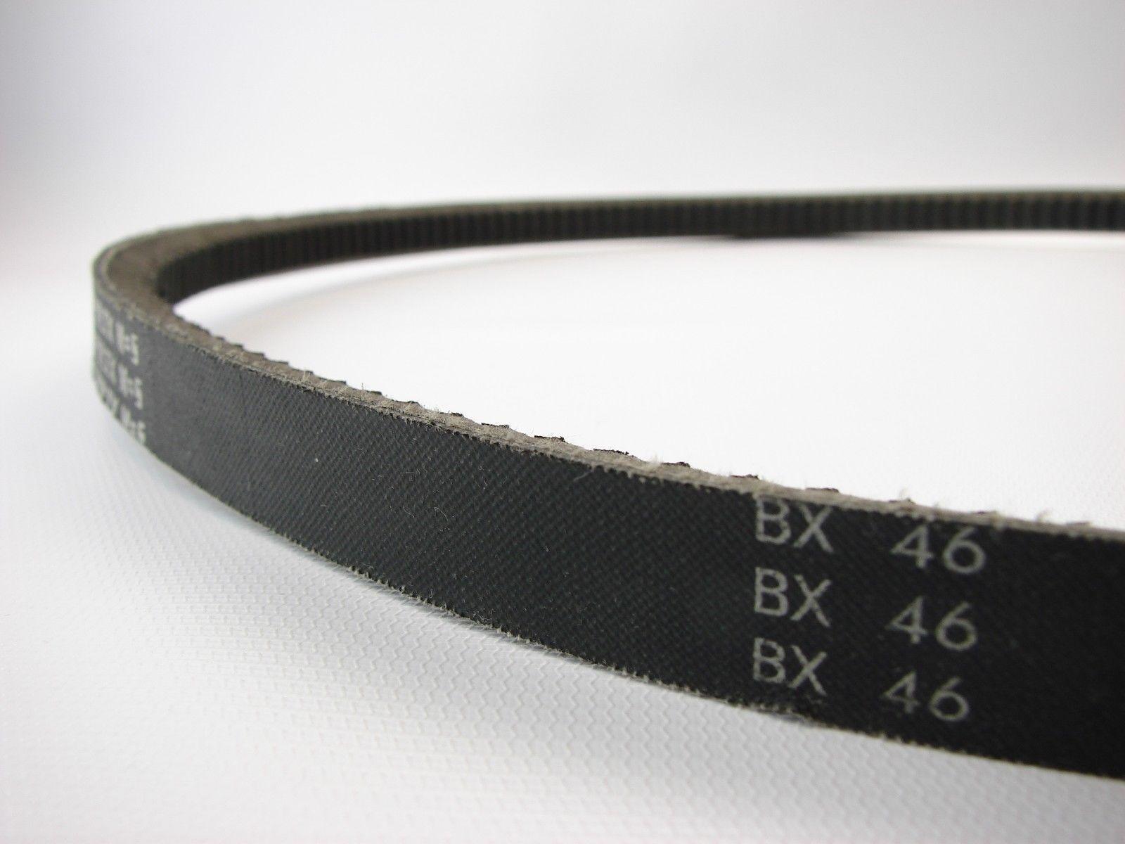 "AX45 Cogged Vbelt47/""/"" Outside Length 1//2/""/"" Top Width 11//32/""/"" Thick V-belt"