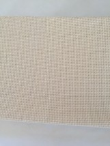 Cross Stitch Fabric 14 Count Natural 41 x 35 Charles Craft - $25.78