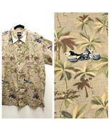 Mens Harley Davidson Tori Richard Hawaiian Shirt XL Cotton Lawn Motorcyc... - $36.75