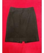 Jcrew Black Wool Pencil Skirt Women's Size 6 - $18.22
