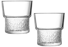 Arcoroc Lounge On The Rock Cocktail Whisky Whiskey Tumbler Glass Cup Set 320ml 1