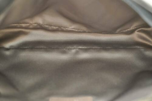 CHANEL Nylon Matelasse Chain Shoulder Bag Black Auth 9576 **Powder image 10