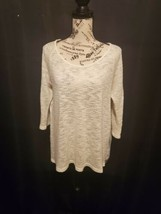Its Me... White Lightweight Sweater Women's Size Large - $20.00