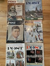 Saturday Evening Post Magazines Lot of 6 - $32.45