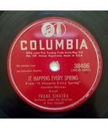 Frank Sinatra - Columbia - 78 RPM - It Happens Every Spring / The Huckle... - $15.75