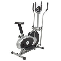 NEW Elliptical Machine Bike Home Gym Crossfit Trainer 2 in 1 Exercise Fi... - $197.48